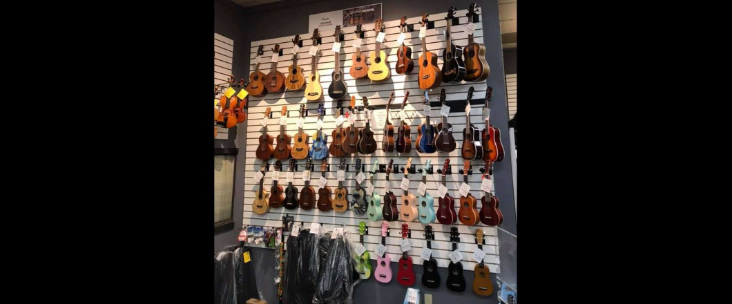 Come into Music City and check out our Ukulele selection!