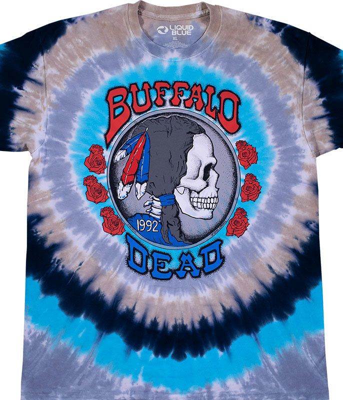 BUFFALO NICKEL TIE DYE