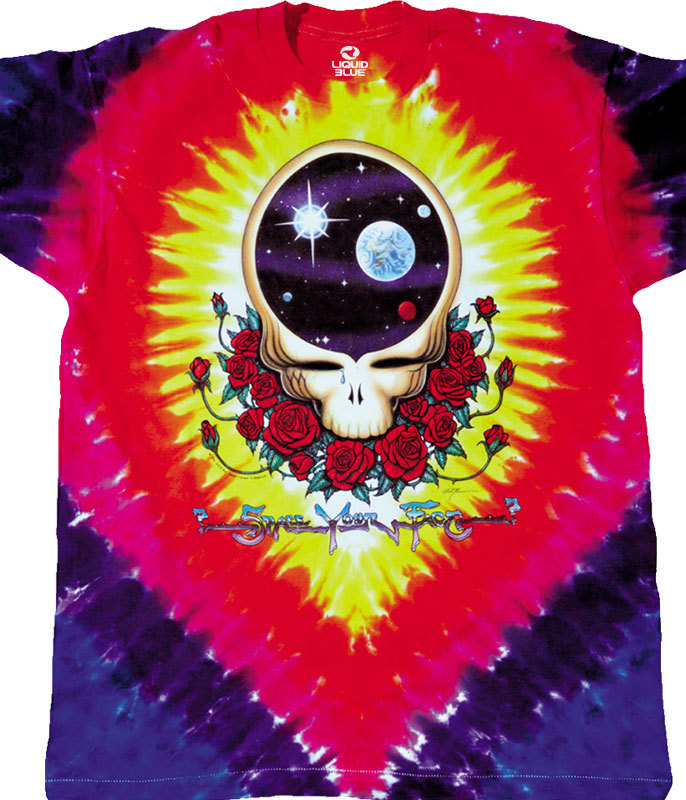 SPACE YOUR FACE TIE DYE