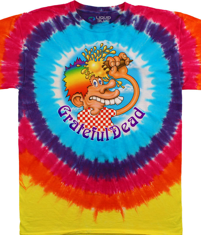 ICE CREAM CONE KID TIE DYE