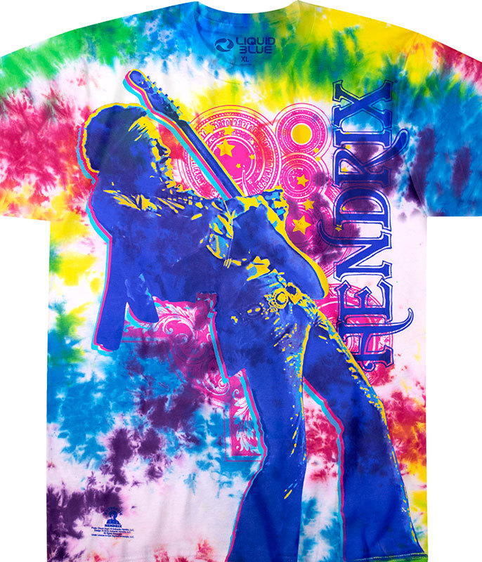 ELECTRIC LADY TIE DYE