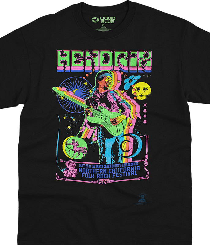 GUITAR BLACKLIGHT T-SHIRT
