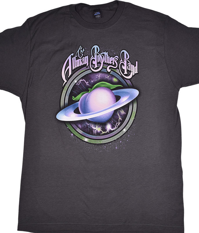 SPACE PEACH GREY T-SHIRT
