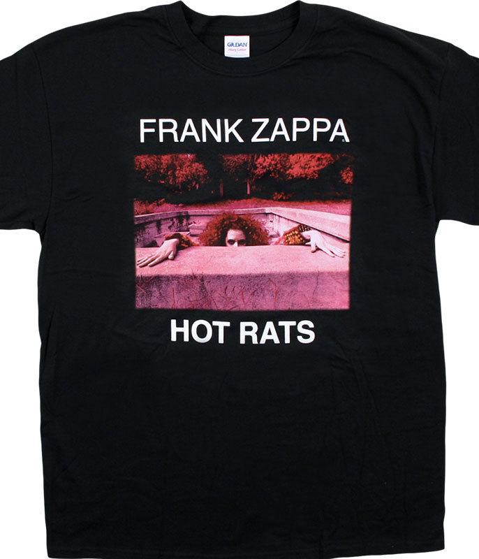 HOT RATS BLACK T-SHIRT