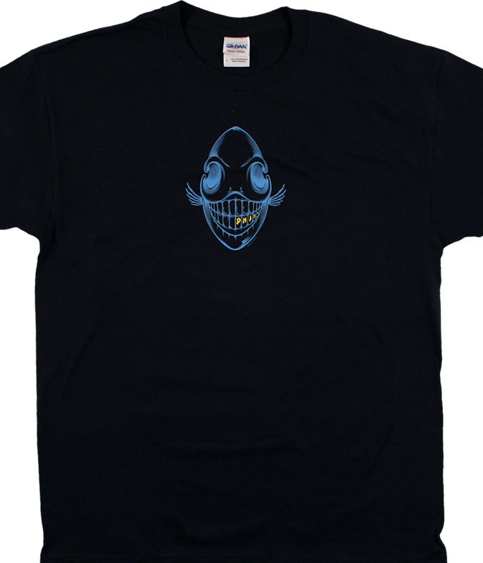 PHISH BONE NAVY BLUE T-SHIRT