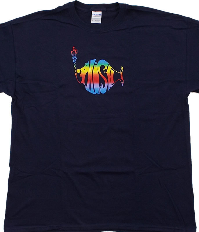 RAINBOW LOGO BLUE T-SHIRT